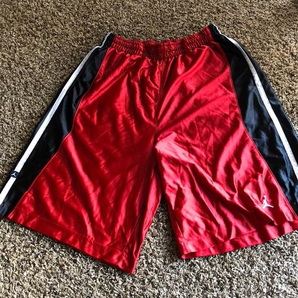 6fb7eb4046bac4 Jordan Other - Michael Jordan basketball shorts red black XXL